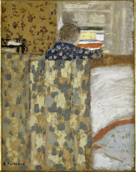 Obra Le Placard à linge do pintor impressionista Edouard Vuillard