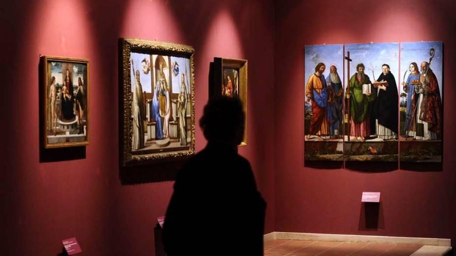 """A exposição """"Grandi del Veneto italiano: di Pisanello a Tiziano, di Tintoretto a Tiepolo"""" apresenta 80 obras de mestres italianos do barroco e renascimento em Roma"""