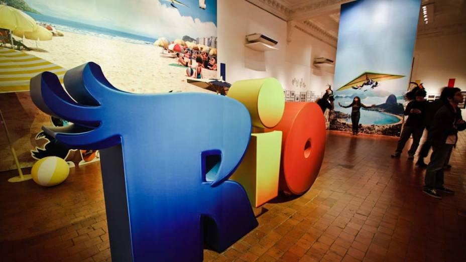 Material produzido para o filme Rio, de Carlos Saldanha, em exposição no Museu Nacional de Belas Artes