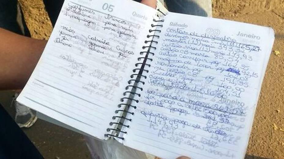 Familiares mostram agenda de Fabiane, morta por linchamento no Guarujá, litoral de São Paulo