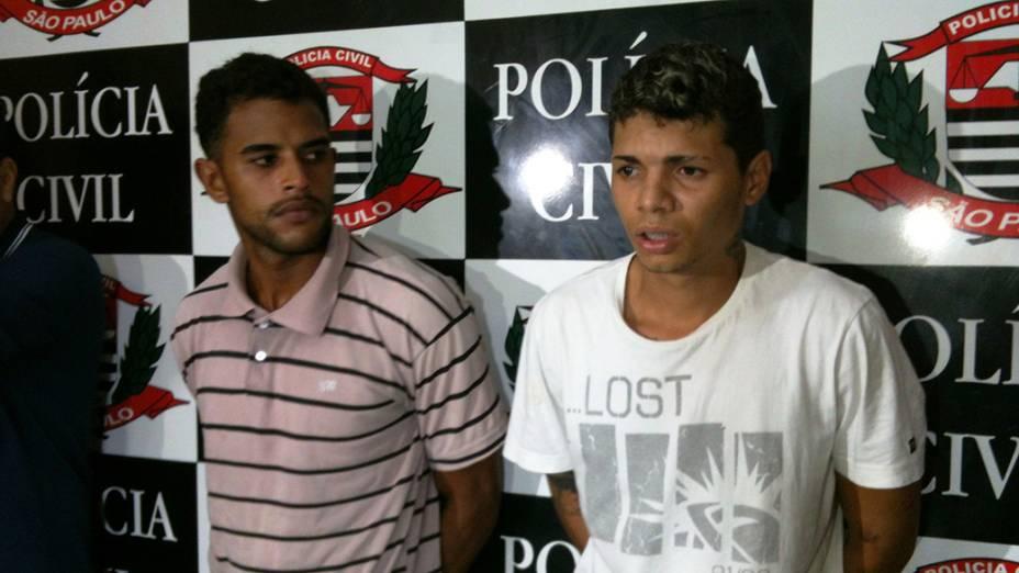 Carlos Alex e Lucas Lopes, suspeitos de participação no linchamento que causou a morte de Fabiane Maria de Jesus, são presos