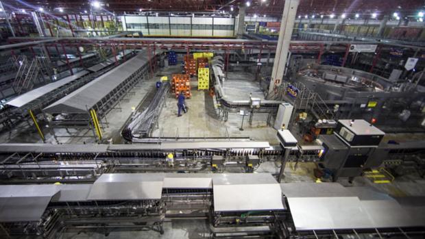 Fábrica da Ambev na cidade de Sete Lagoas (MG)