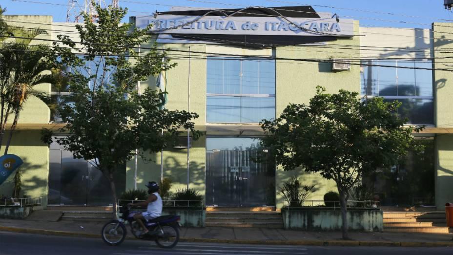 Fachada da Prefeitura de Itaocara