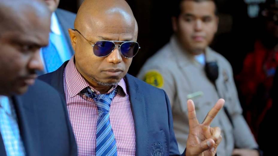 Randy Jackson após a condenação do médico Conrad Murray à pena máxima, quatro anos de cadeia na prisão de Los Angeles, pela morte de Michael Jackson
