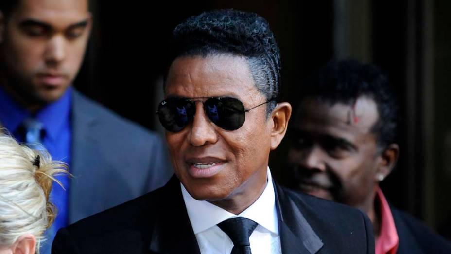 Jermaine Jackson após a condenação do médico Conrad Murray à pena máxima, quatro anos de cadeia na prisão de Los Angeles, pela morte de Michael Jackson
