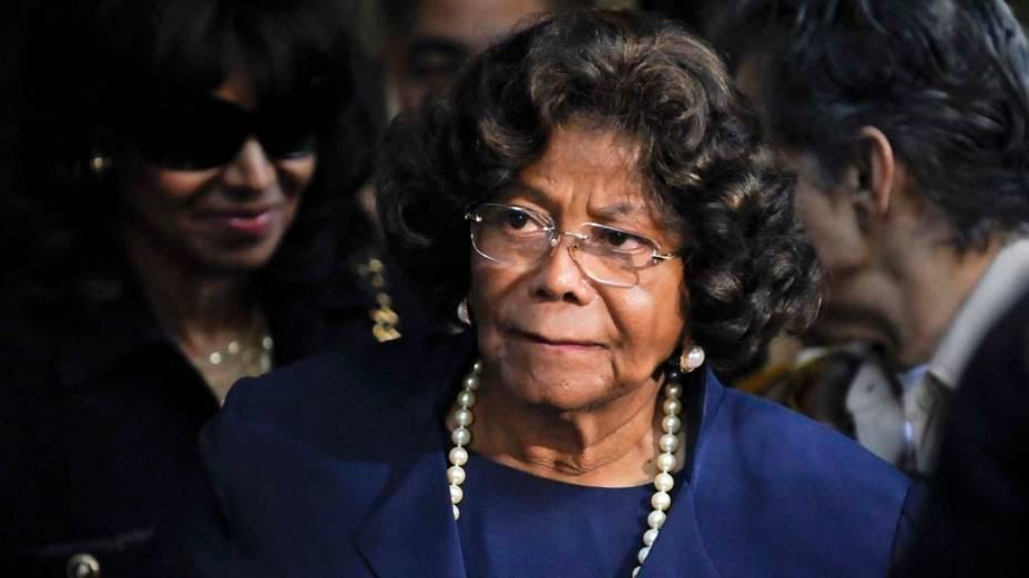 Katherine Jackson, mãe de Michael Jackson, após a condenação do médico Conrad Murray à pena máxima, quatro anos de cadeia na prisão de Los Angeles, pela morte de Michael Jackson