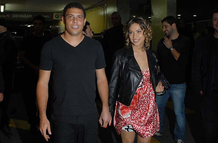 Com Bia Antony, em 2010