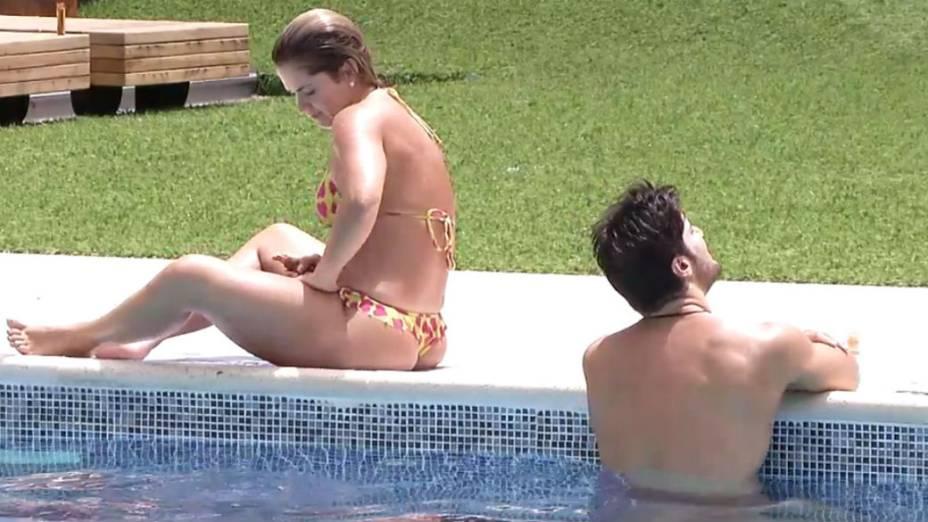 O BBBs na piscina: Fani