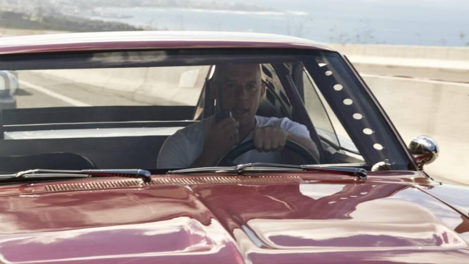 Toretto a bordo do Charger Daytona 1969
