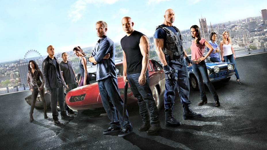 A turma de Dom Toretto (Diesel)