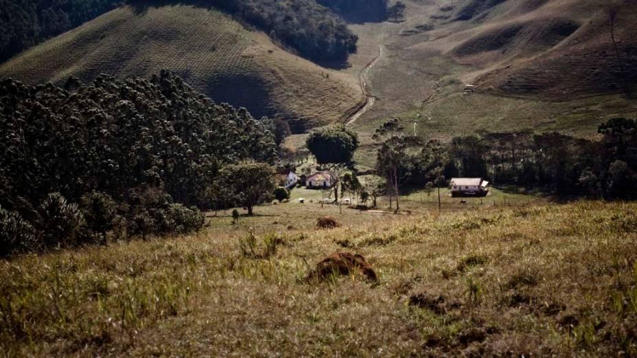 A Fazenda Mattosinho fica localizada entre as serras do Mar, da Bocaina e da Mantiqueira, a poucos quilômetros da cidade de Cunha, em São Paulo