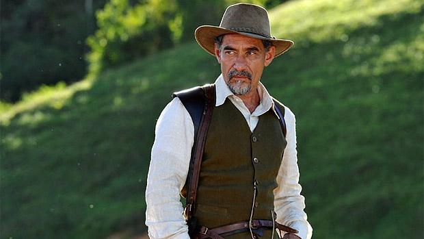 Fazendas de cacau são o cenário do coronel Melk Tavares (Chico Diaz)
