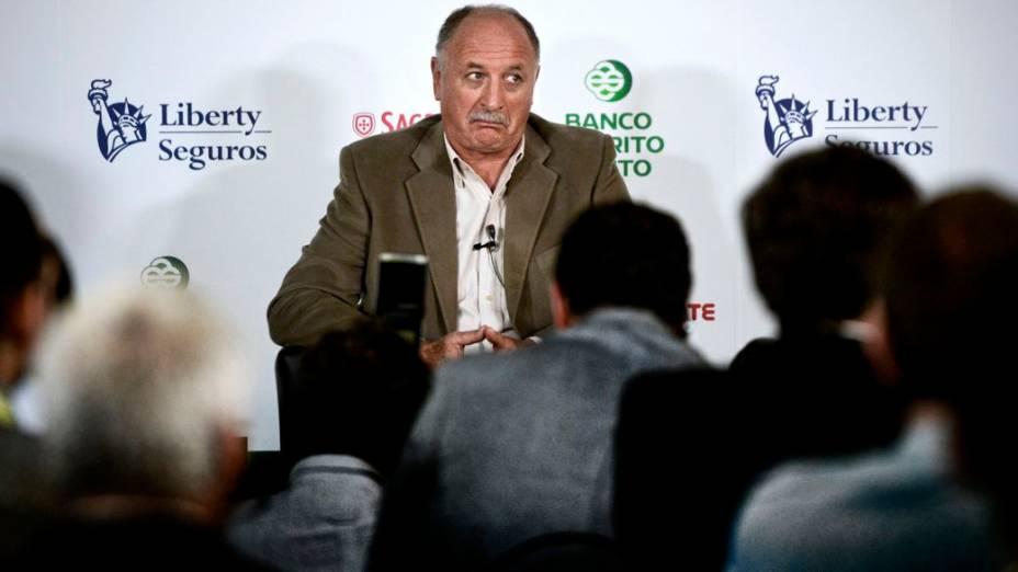 Felipão participa de evento sobre a Copa do Mundo em Portugal