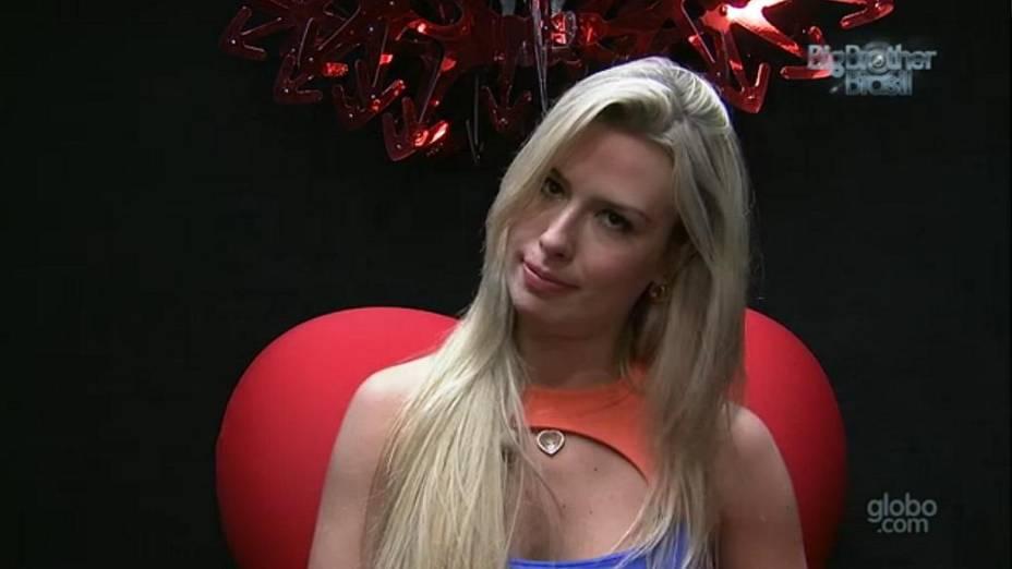 Fernanda vota no 1º paredão do BBB 13