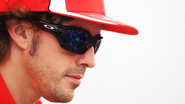 Fernando Alonso, piloto da Ferrari