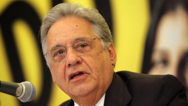 O ex-presidente Fernando Henrique Cardoso