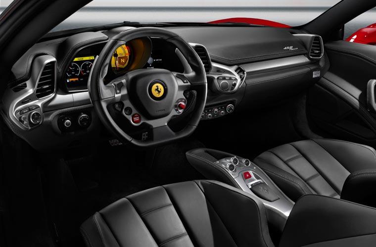 Interior de luxo: para rodar em estradas