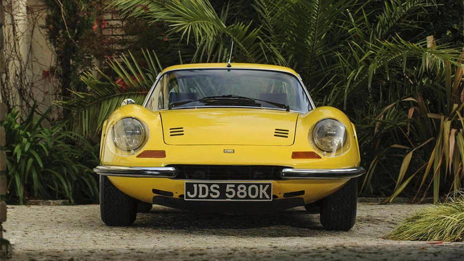 Ferrari Dino 246GT Coupé 1972: menos de 500 unidades fabricadas