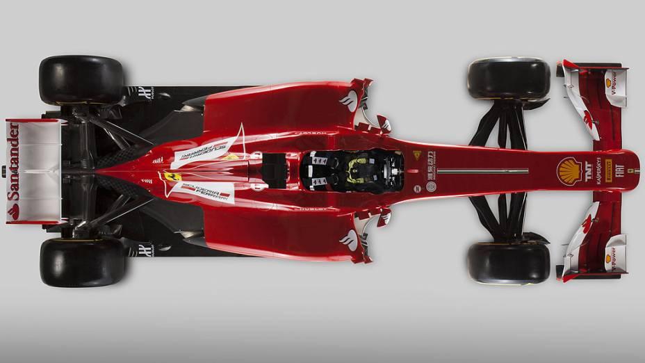 Ferrari F138: modelo para a temporada 2013 da Fórmula 1