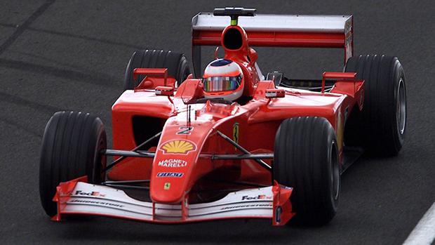 F2001 foi pilotado por Rubens Barrichello no GP de Mônaco