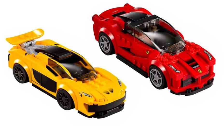 Legos Speed Champions - Ferrari e McLaren