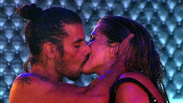 Fani e Miguel, o novo casal do BBB 13