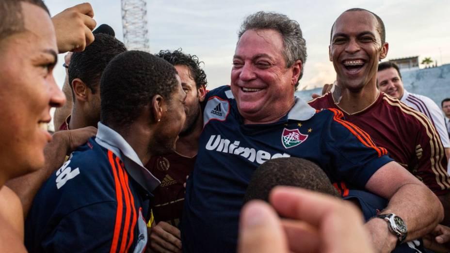 A festa do Fluminense campeão brasileiro de 2012