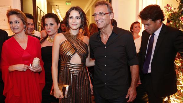 O ator Herson Capri na festa de lançamento da novela Em Família