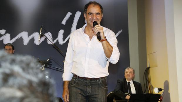 Humberto Martins no lançamento da novela Em Família, de Manoel Carlos, no Hotel Copacabana Palace