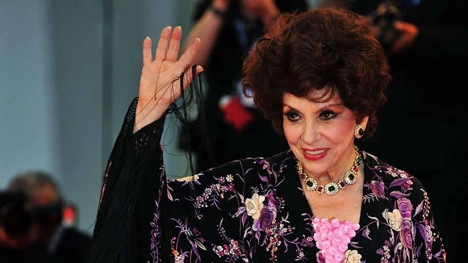 """A atriz italiana Gina Lollobrigida também procurou o cirurgião para ganhar o que ficou conhecido como """"nariz Pitanguy""""."""