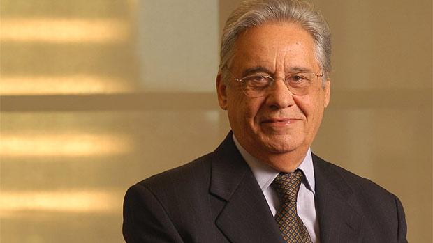O ex-presidente e sociólogo Fernando Henrique Cardoso