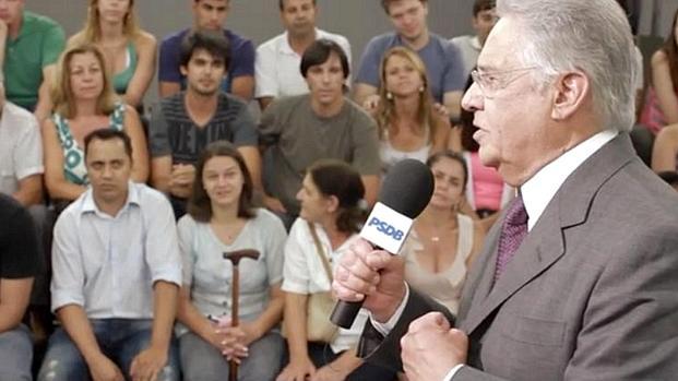 """O ex-presidente Fernando Henrique Cardoso: """"Precisamos estar mais próximos do povo"""""""