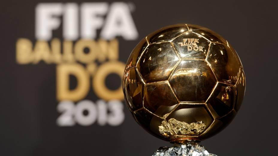 A premiação do Bola de Ouro acontece na seda da Fifa, em Zurique