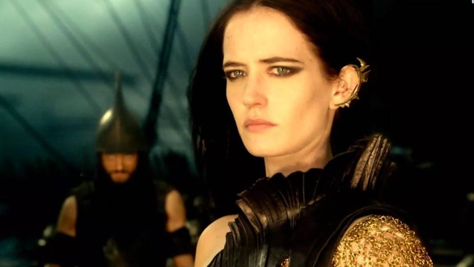 Eva Green no filme 300 - A Ascensão do Império