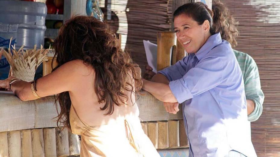 Gravações da novela Fina Estampa no Rio de Janeiro