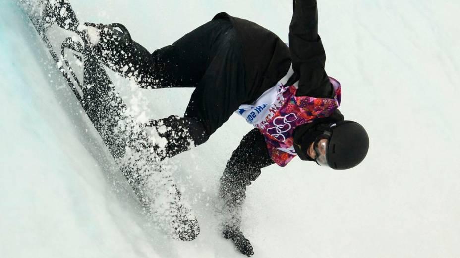 Iouri Podladtchikov, campeão olímpico no snowboard halfpipe em Sochi-2014