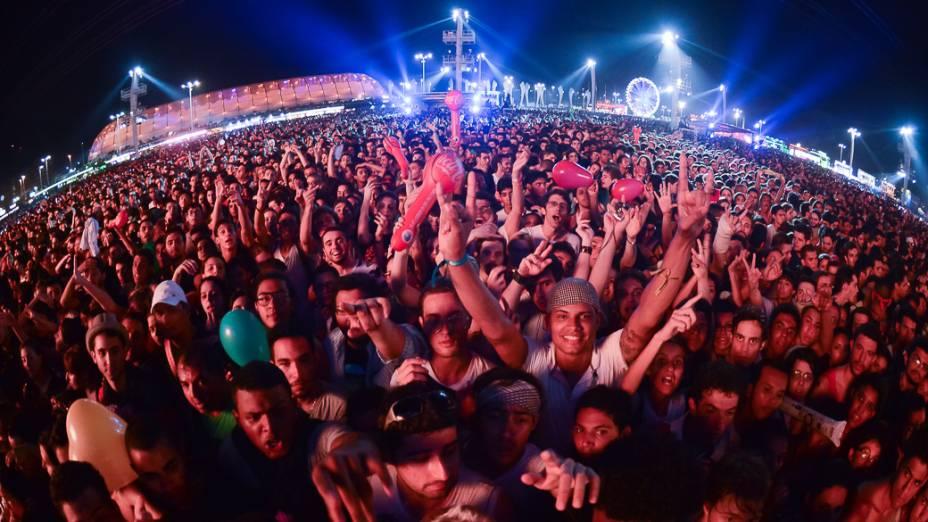 Público durante segundo dia do Rock in Rio 2013