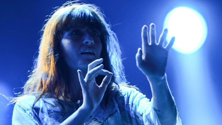 Florence and The Machine durante segundo dia do Rock in Rio 2013