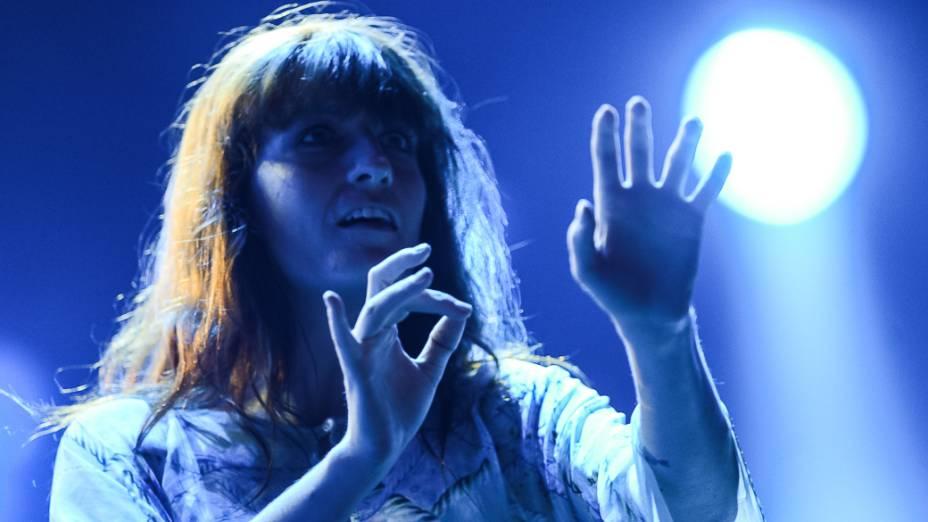 Florence and The Machine durante segundo dia do Rock in Rio 2013