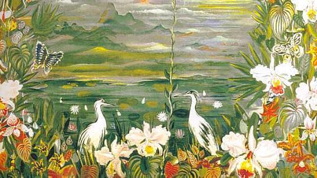 Floresta Tropical (1938), de Alberto da Veiga Guignard, foi uma das obras perdidas no incêndio