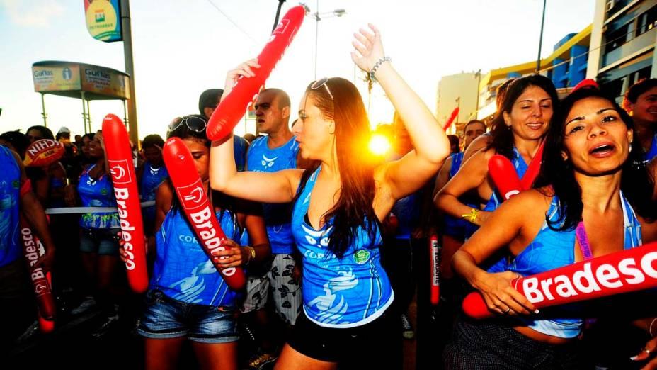 Público durante o carnaval de Salvador