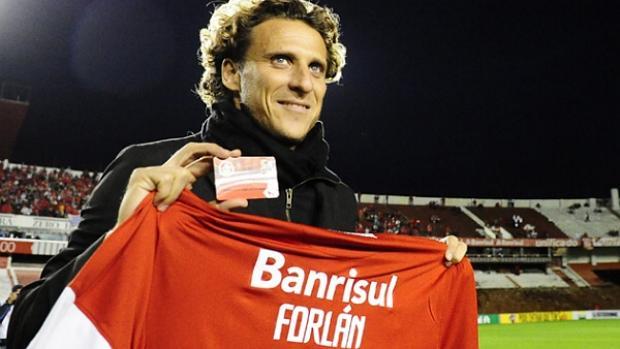 O Inter de Forlán: terceiro colocado, com receita de 264,2 milhões de reais