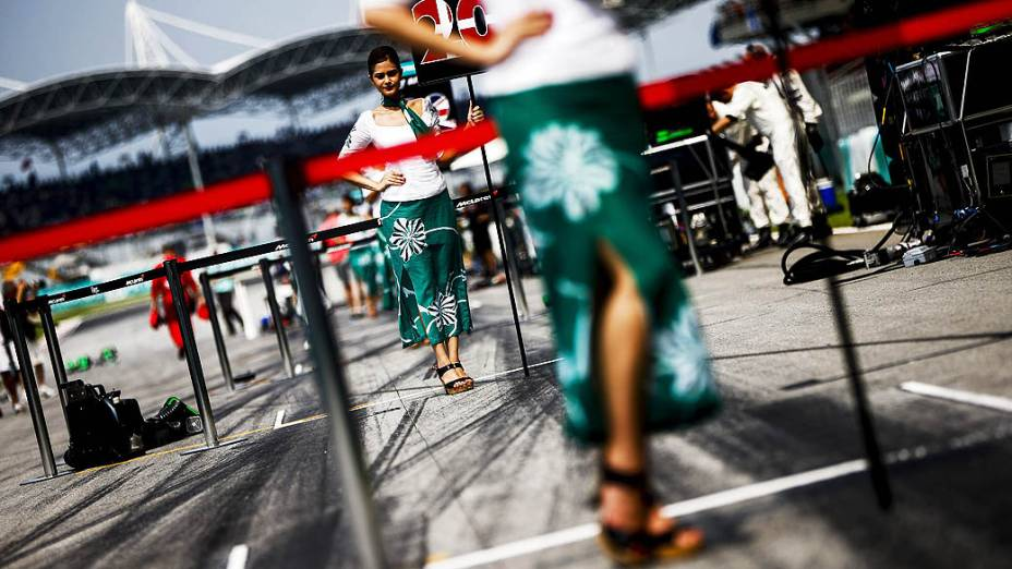 Hamilton, vencedor do GP da Malásia