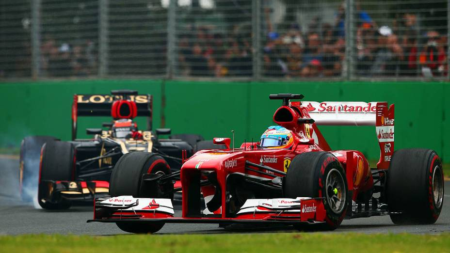 Fernando Alonso conquista o segundo lugar no GP da Austrália