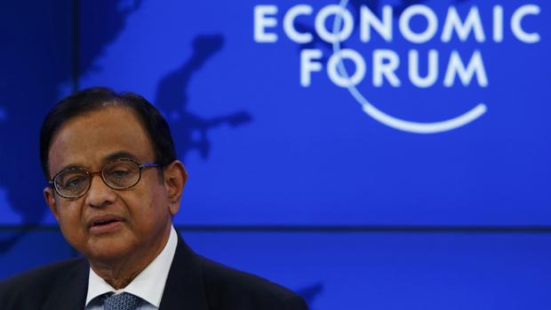 Palaniappan Chidambaram ministro das Finanças da Índia
