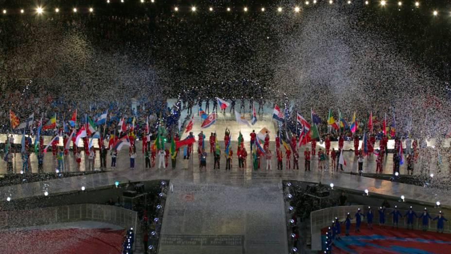 Cerimônia de encerramento dos Jogos Olímpicos de Londres 2012