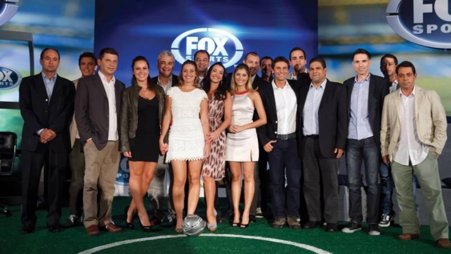Apresentação da equipe do canal Fox Sports Brasil