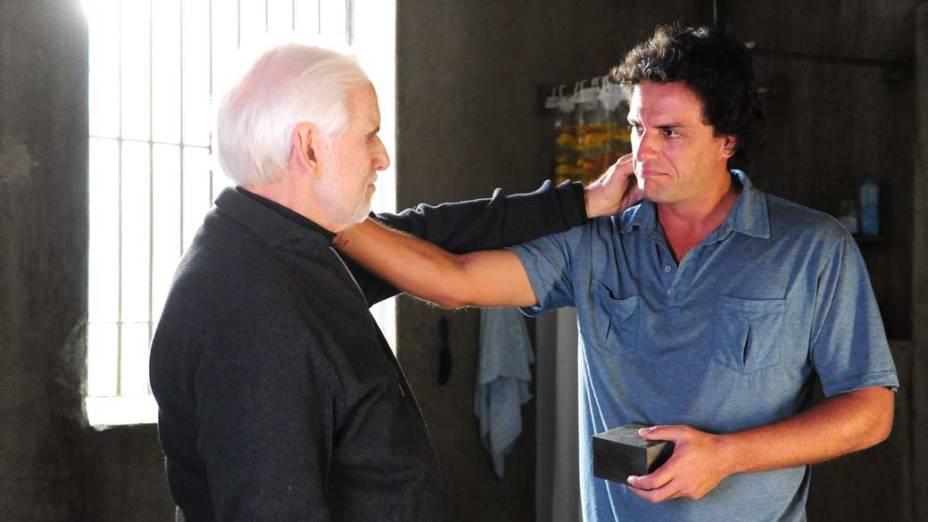 Rodrigo Lombardi faz o papel de Herculano, que foi de Cuoco na primeira versão de <em>O Astro</em>