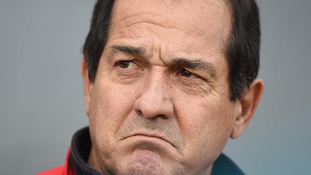 Muricy Ramalho na partida contra o Corinthians