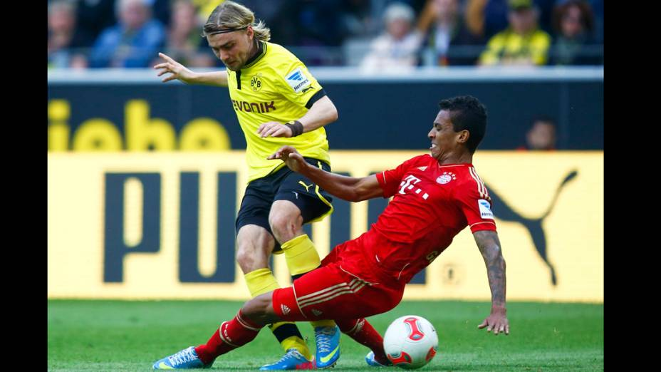 Partida entre Borrussia e Bayern, na Alemanha